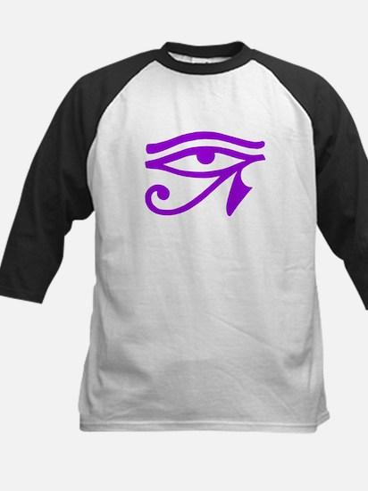 Purple Eye Kids Baseball Jersey