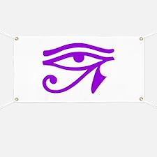 Purple Eye Banner