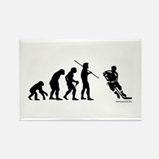 Hockey Evolution Rectangle Magnet (10 pack)