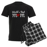 Worlds best mom Men's Dark Pajamas