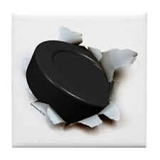 Hockey Burster Tile Coaster