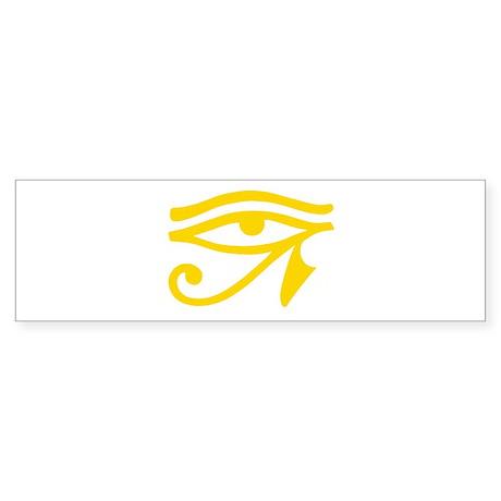 Yellow Eye Bumper Sticker