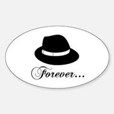 Michael Forever Oval Decal