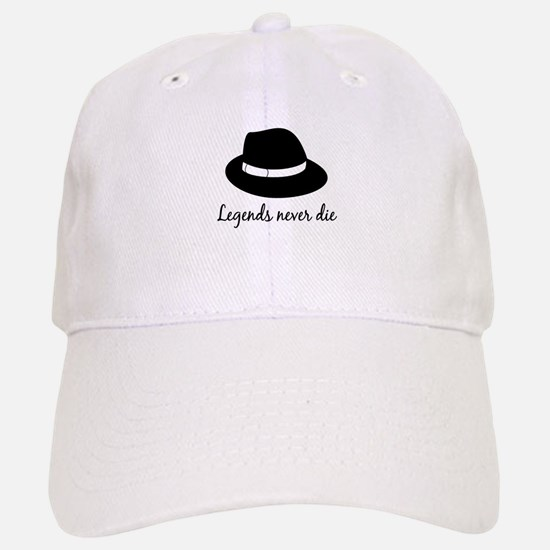 Legends Never Die Baseball Baseball Cap