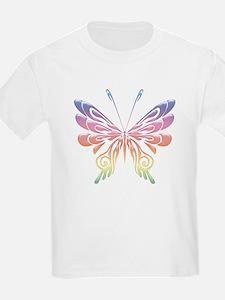Butterfly Tat Rainbow (05) T-Shirt