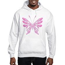Butterfly Tat Pink (05) Hoodie