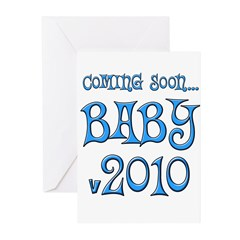 Coming Soon...BLUE Greeting Cards (Pk of 20)