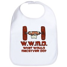 What Would MacGuyver Do? Bib