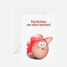 Red Hat Ladies Greeting Card
