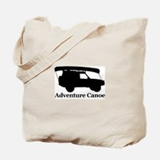 Adventure Canoe Tote Bag