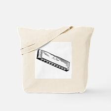 Harmonica/Blues Harp Tote Bag