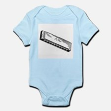 Harmonica/Blues Harp Infant Bodysuit