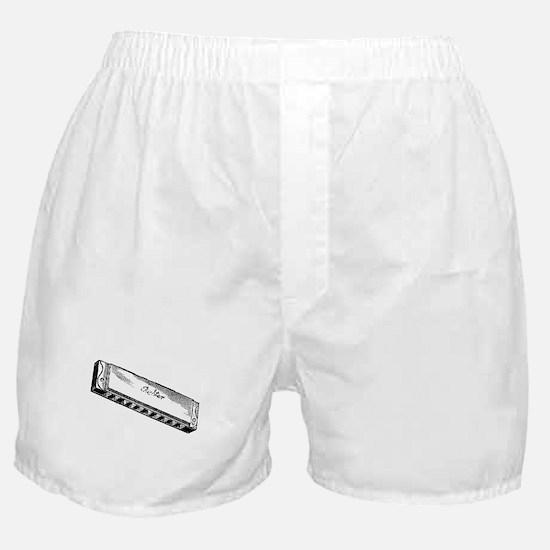 Harmonica/Blues Harp Boxer Shorts