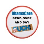 """ObamaCare 3.5"""" Button (100 pack)"""