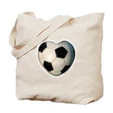 Soccer Love Tote Bag