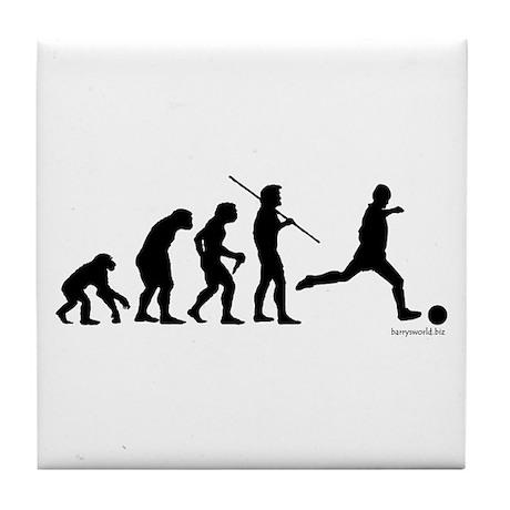 Soccer Evolution Tile Coaster