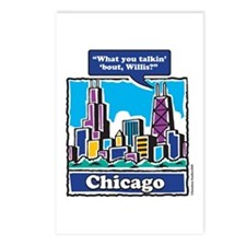 What you talkin Bout Willis Postcards (Package of