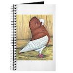 Red Komorner Tumbler Journal