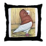 Red Komorner Tumbler Throw Pillow