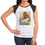 Red Komorner Tumbler Women's Cap Sleeve T-Shirt
