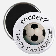 """Soccer? 2.25"""" Magnet (10 pack)"""