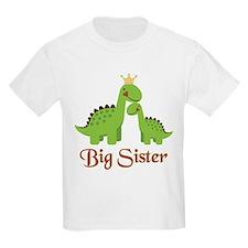 Big Sister Dino T-Shirt