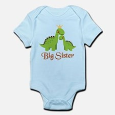 Big Sister Dino Infant Bodysuit