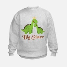 Big Sister Dino Sweatshirt