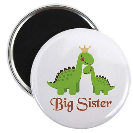 Big Sister Dino Magnet