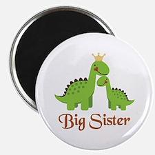 "Big Sister Dino 2.25"" Magnet (100 pack)"