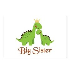 Big Sister Dino Postcards (Package of 8)