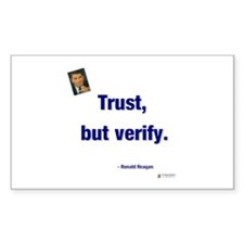 Reagan Trust Rectangle Decal