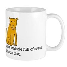 Dog whistle Mug