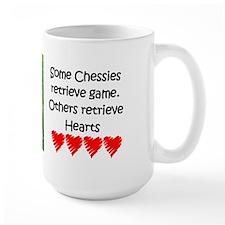 Some Chessies Retrieve Hearts Mug