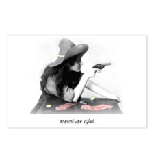 Revolver Girl Postcards (Package of 8)