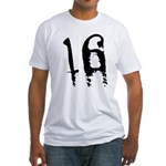 16th Birthday Fitted T-Shirt