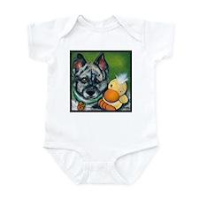 """Australian Cattle Dog """"Sydney"""" Infant Bodysuit"""