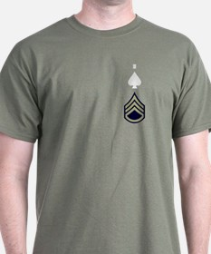 506th PIR Headquarters S/Sgt T-Shirt