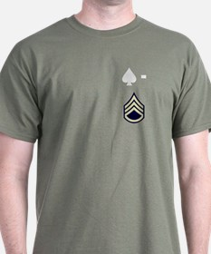 506th PIR 1st Battalion S/Sgt T-Shirt