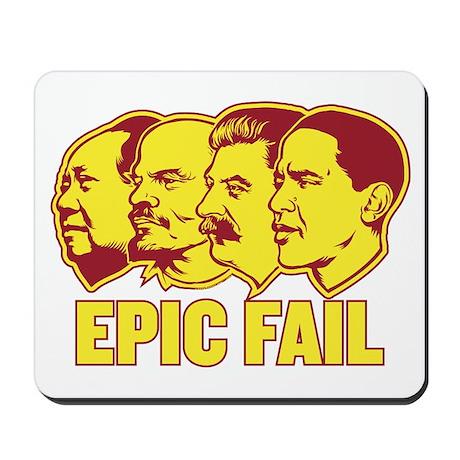 Epic Fail Obama Mousepad
