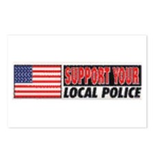 Support your local police Postcards (Package of 8)