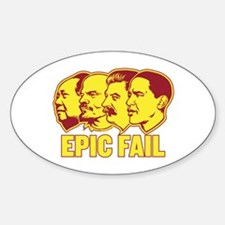 Epic Fail Obama Oval Decal