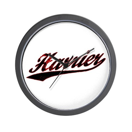 Harrier Varsity Wall Clock