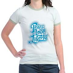 Peace Love Liberty T