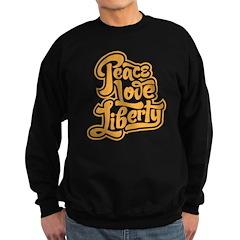 Peace Love Liberty Sweatshirt