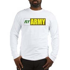 Fly Army Long Sleeve T-Shirt