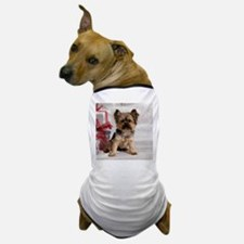 Yorkshire Terrier Holiday Dog T-Shirt
