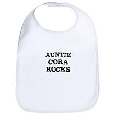 AUNTIE CORA ROCKS Bib