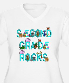 Second Grade Rocks T-Shirt