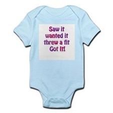 Saw it, wanted it, ... Infant Creeper